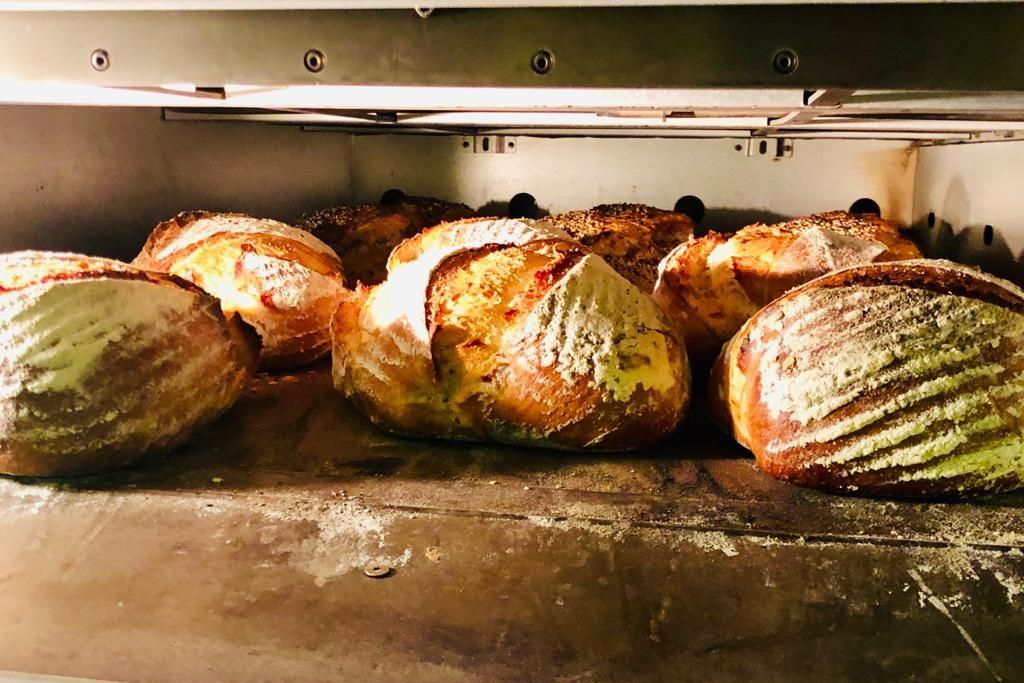 Panes de trigo Santa Eulalia